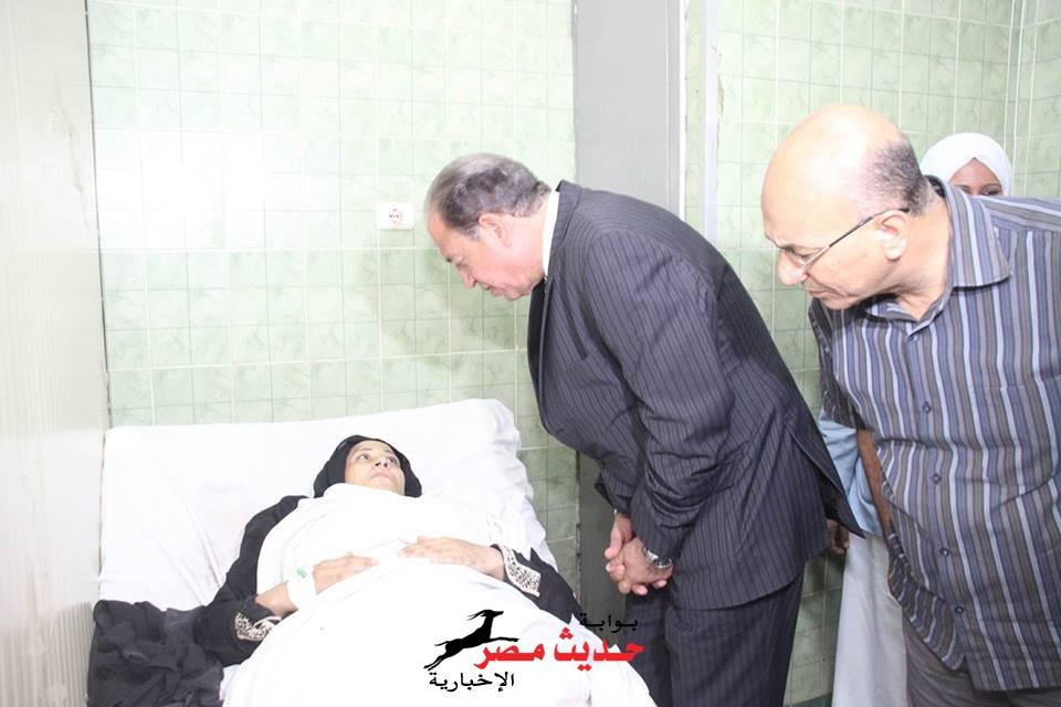 أبراهيم حماد يأمر بصرف تعويضات عاجلة لأهالي ضحايا حادث طريق اسيوط القاهرة الصحراوى