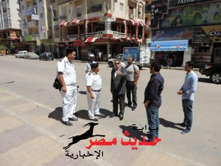 إستمرار الحملات الأمنية لرفع التعديات و الإشغالات بمدينة الغردقة
