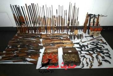 القبض على عاطلين وبحوزتهم اسلحة نارية بكفر سعد بدمياط