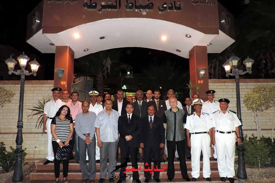 مدير أمن البحر الأحمر يستقبل وفد من نقابة المحامين للتأكيد على الدور المشترك