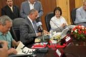 بالصور و الفيديو .. وزيرة التطوير الحضارى توقع بروتوكول لتنمية منطقة زرزارة بالغردقة