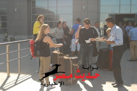 وصول 13 آلف سائح لمطار الغردقة الدولى على متن 73 رحلة طيران دولية