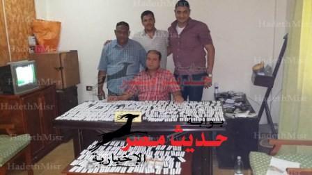 ضبط سائق بحوزته 3800 قرص مخدر بسفاجا