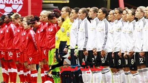 المنتخب الألمانى يفوز نظيره الكندي بتصفيات كأس العالم للسيدات