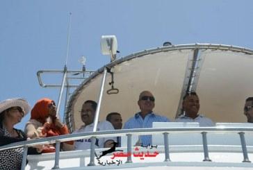 """بالصور و الفيديو"""" محافظ البحر الأحمر """"  يشهد إنطلاق مهرجان الغردقة الدولى للغوص بالغردقة"""