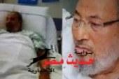 نشطاء يتداولون صورة للقرضاوى بمستشفى عقب مؤشرات اكتساح السيسى