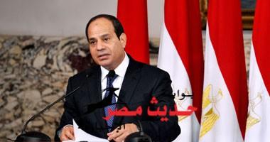 السيسى: يا شباب مصر أنتم الأمل والمستقبل ومن ستبنوا مصر