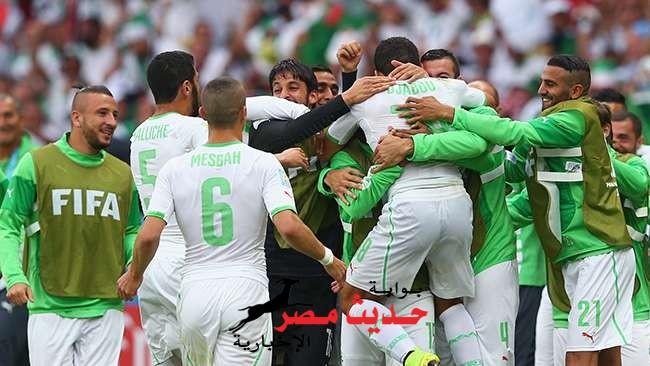 المنتخب الجزائري يعيد الامل للعرب بفوزه الكبير على كوريا الجنوبية.