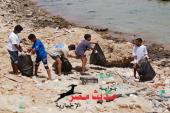 محميات البحر الأحمر تدشن حملة نظافة موسعة بجزيرة يوتوبيا جنوب القصير