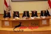"""إقامة مسرح بميدان """" سيجال """" بالغردقة لإذاعة بيان اللجنة العليا للإنتخابات"""