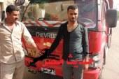 امن كفر الشيخ يعيد سيارة مسروقة بعد مطاردة اللصوص