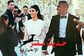 """صور زفاف النجمين العالمين كيم كاردشيان ومطرب الراب حيث تخطت ا1.93 مليون """"إعجاب"""" وتعليق."""