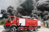 """إصابة عاملين إثر نشوب حريق بمحطة مولدات """" سوما باى"""" بالغردقة"""