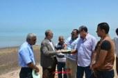 عبد الله  يتفقد أراضى مشروعات المنفعة العامة بالغردقة