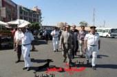 مدير أمن البحر الأحمر  يقود حملة مرورية بمتابعة العمل بالتعريفة الجديدة بالغردقة