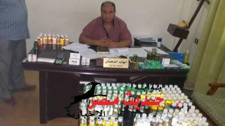 ضبط صيدلى و صاحب صيدلية بحوزتهما أقراص و أنبولات مخدرة بسفاجا