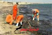 تشكيل لجنة لمعاينة بقعة زيتية على شواطئ رأس غارب