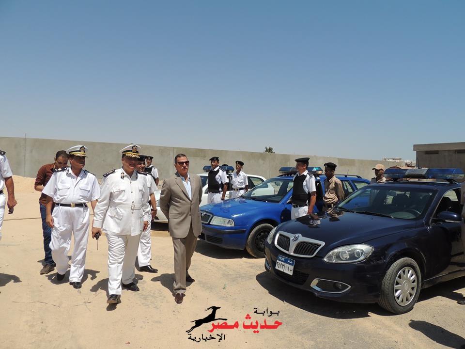 بالصور .. مدير أمن البحر الأحمر يتفقد شرطة النجدة بالغردقة