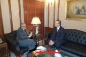زعزوع يعقد جلسة مباحثات ثنائية مع السفير المجري بالقاهرة لبحث سبل التعاون السياحي