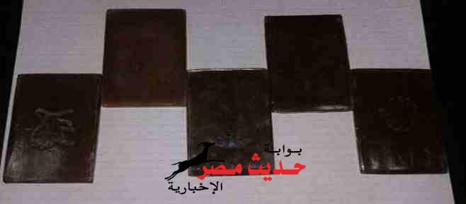 ضبط عاطلين بحوزتهما 16 قطعة حشيش للإتجار بالغردقة