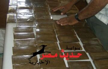 سقوط عامل و عاطل بحوزتهما 19 قطعة حشيش للإتجار بالغردقة