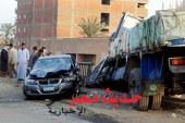 مقتل اثنين وإصابة آخر في حادث تصادم على الطريق الزراعى بطنطا