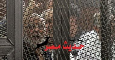 """الحكم بإعدام 10 من قيادات الإخوان والمؤبد للباقين بينهم بديع و البلتاجي و حجازي في قضية """"قطع طريق قليوب"""""""