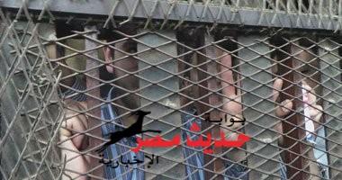 """سنة مع الشغل لـ ابن """"مرسى"""" وصديقه  فى قضية تعاطى الحشيش بالقليوبية"""