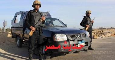 استشهاد جندين بالعريش اليوم