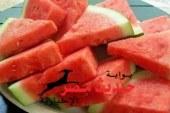 الشمام والبطيخ والفراولة والطماطم تساعد فى الحفاظ على الوزن بالصيف