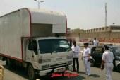 حملات مرور القاهره لمنع دخول سيارات النقل الثقيل تفعيل لقرار المحافظ