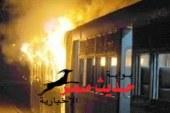 قطار يصطدم بسيارة «ميكروباص» في مزلقان بالدقهلية