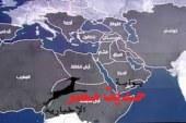 """خريطة """"الخلافة الإسلامية""""لـ داعش"""
