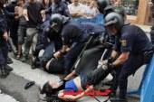 اشتباكات بين المتظاهرين الاكراد والشرطه التركيه