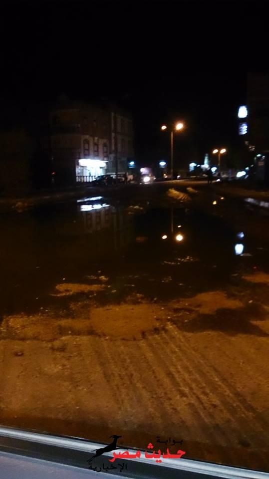 سوء شبكات الصرف الصحي تثير استياء المواطنين في راس غارب