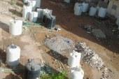 خطر خزانات المياه تهدد مساكن ابو النصر بالسقوط