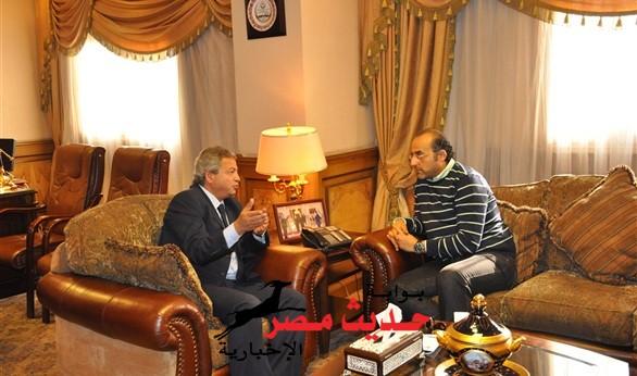 وزير الشباب والرياضة وعد بحفظ حقوق الصحفيين في عضوية الزمالك