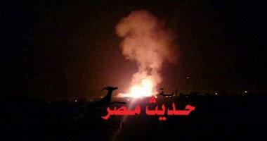 دوى انفجارات يهز مدينة العريش وإطلاق نيران من كل الارتكازات الأمنيه