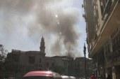 حريق هائل يلتهم 10منازل بقرية البلابيش فى سوهاج والدفع