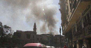 حريق يلتهم 10منازل بقرية البلابيش فى سوهاج