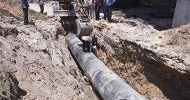حى العامرية يواصل أعمال تطوير شبكات المياه والصرف ورفع المخلفات