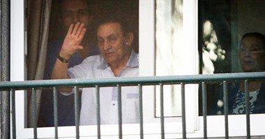 كواليس احتفال أسرة مبارك بمولود جمال