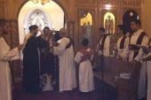 احتفال الكنيسة القبطية بعيد القديس موريس بسويسرا