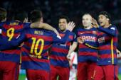 برشلونة يسجل الهدف الثانى فى غرناطة بالدقيقة 64