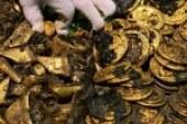 كنز ذهبي ثمين داخل مقبرة عمرها 2000عام في الصين