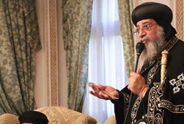 البابا تواضروس يزور الكنيسة المرقسية بالإسكندرية