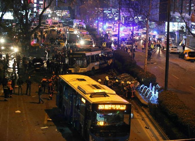 34 قتيلا و125 جريحًا في انفجار قلب أنقرة