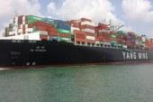 عبور 184 سفينة  بحمولة 11.3 مليون طن بضائع صب خلال شهر يناير