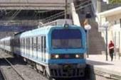 توقف حركة الخط الأول للمترو بعد خروج قطار عن القضبان بمحطة طرة البلد