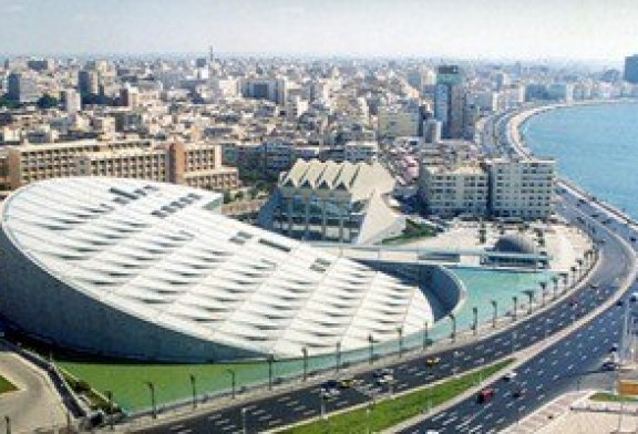 مكتبة الإسكندرية تنظم احتفالية اليوم العالمى للمياه لعام 2016.